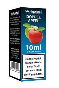 eLiquid Doppel Apfel 10 ml 8 mg Nikotin online kaufen
