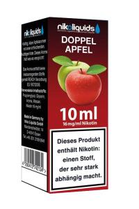eLiquid Doppel Apfel 10 ml 16 mg Nikotin online kaufen