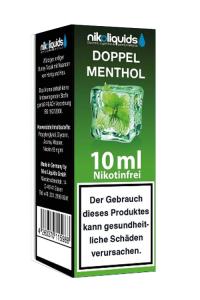eLiquid Doppel Menthol 10 ml Nikotinfrei online kaufen