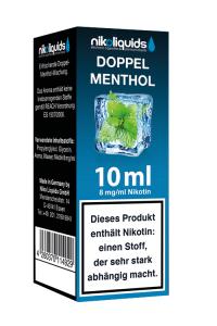 eLiquid Doppel Menthol 10 ml 8mg Nikotin online kaufen