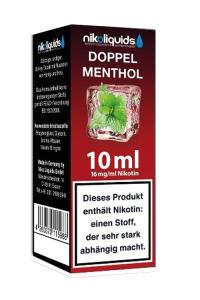 eLiquid Doppel Menthol 10 ml 16mg Nikotin online kaufen