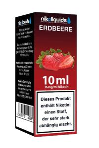 eLiquid Erdbeere 10 ml 16mg Nikotin online kaufen