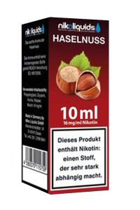 eLiquid Haselnuss 10 ml 16mg Nikotin online kaufen