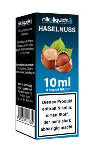 eLiquid Haselnuss 10 ml 8mg Nikotin online kaufen
