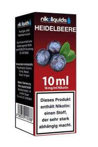 eLiquid Heidelbeere 10 ml 16mg Nikotin online kaufen