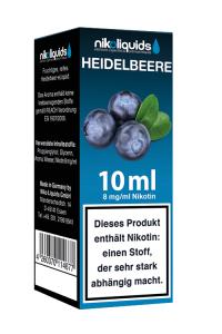 eLiquid Heidelbeere 10 ml 8mg Nikotin online kaufen