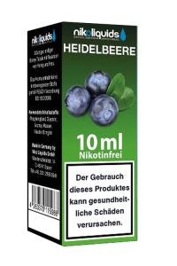 eLiquid Heidelbeere 10 ml Nikotinfrei online kaufen
