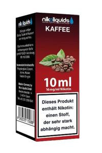 eLiquid Kaffee 10 ml 16mg Nikotin online kaufen