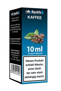 eLiquid Kaffee 10 ml 8mg Nikotin online kaufen