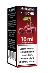 eLiquid Kirsche 10 ml 16mg Nikotin online kaufen