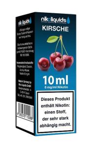 eLiquid Kirsche 10 ml 8mg Nikotin online kaufen