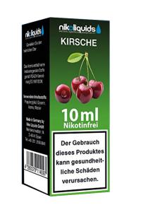 eLiquid Kirsche 10 ml Nikotinfrei online kaufen